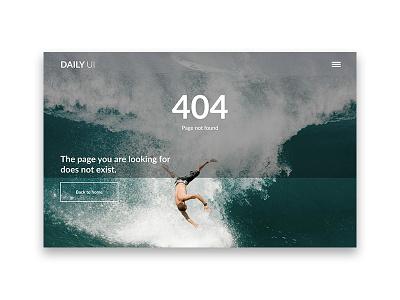 404 Day 008 #dailyui dailyui 404 webdesign ux design ui design