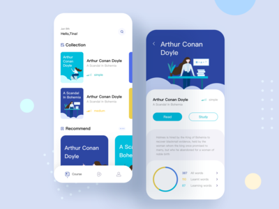 Education App  About Learning English