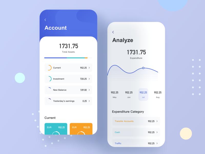 Finance App5 design finance app app ui