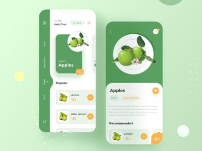 Fresh e-commerce App