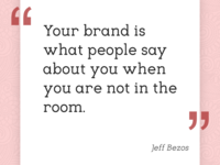 Establishing your brand is a difficult thing to do...