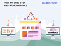 SOLUTION: How To Sync Etsy And WooCommerce? Multiorders