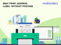 Solved Print Ebay Address Label Without Postage Multiorders Drib