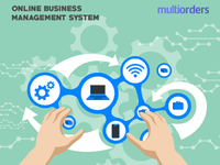 Online Business Management System Multiorders