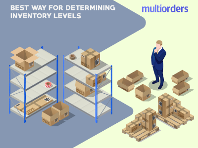 The Best Way For Determining Inventory Levels Multiorders online store online shop order fulfillment order management shipping management ecommerce inventory management multiorders inventory levels determining inventory levels inventory