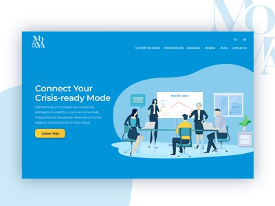 MO&MA | Crisis Management Consultants | Header Illustration