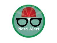 Nerd Alert Badge