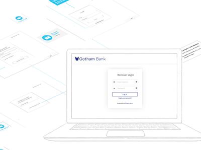 Borrower Login  borrower portal bank software