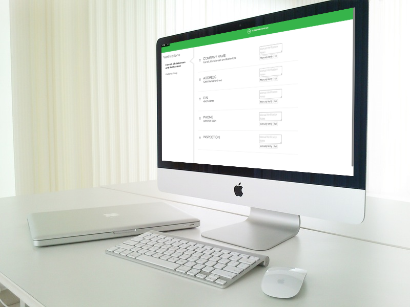 KYC & Verifications software bank modern