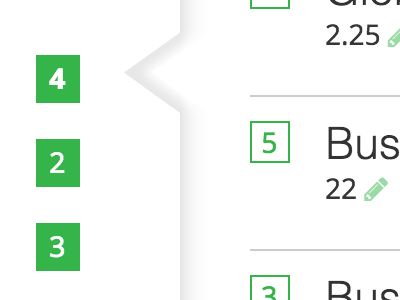 CSS Arrow for Bootstrap Tabs Navigation