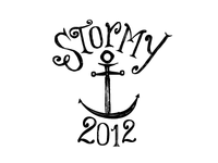 Stormy boat crest
