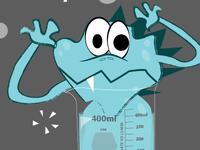 Monster in a beaker