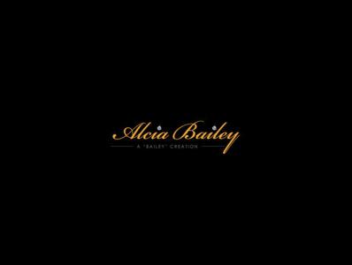 Alicia Bailey Logo Design diamonds logodesign branding company logo signature logo