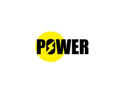 Power Logo Design logodesign branding logo high strong power up booster electricity