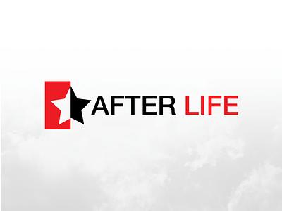 After Life Logo Design artwork design company logo branding star death black and white star log star logo