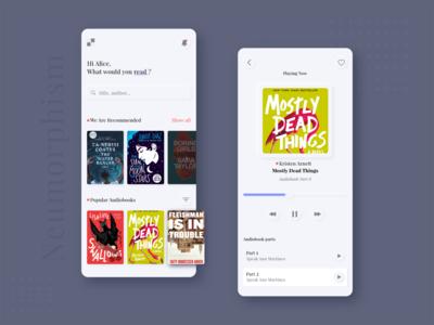 Audiobook application