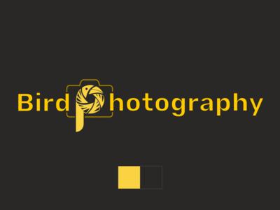 Bird Photography logo concept