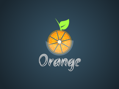 Orange concept logo