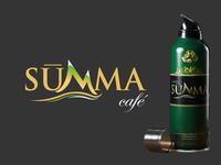 Summa Cafe Logo + Package Design