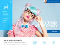 KZ1 Homepage Concept