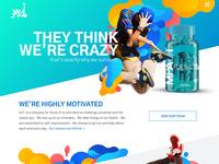 KZ1 Website Redesign