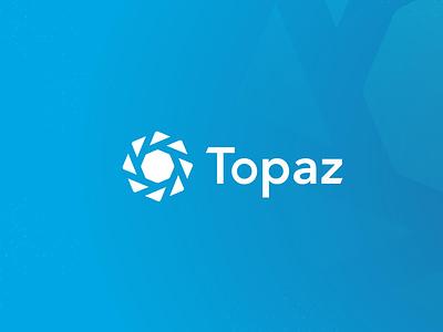 Topaz Redesign decent blockchain tech topaz identity branding logo
