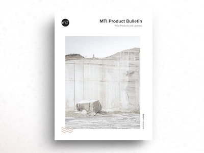 MTI Baths Product Bulletin Cover