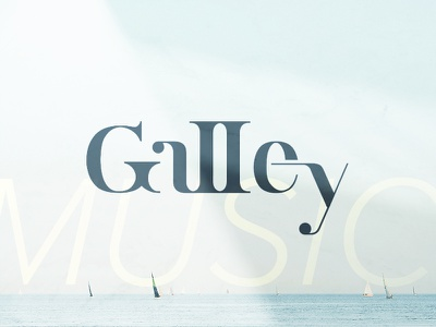 Galley Promo Photo visual identity brand logo tropical blue good vibes ocean blog music the galley galley