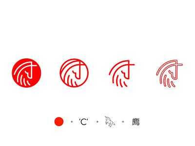 Choon Logo Icon Exploration cryptocurrency unicorn kanji japanese brutalism music branding identity design logo