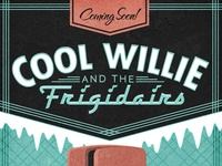 Cool Willie - Gig Poster