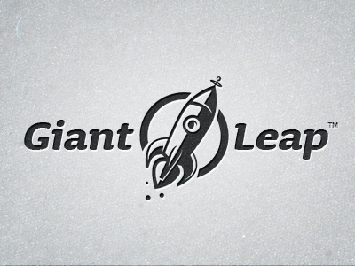 Giant Leap - Logo Tweeks WIP giant leap logo rocket retro