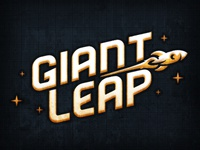 Giant Leap : Logo Exploration WIP