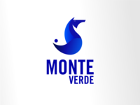 Golden ratio logotype MONTE VERDE