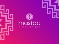 """mastak"" Armenian GUM logo design"