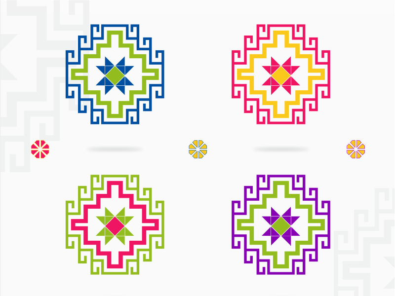 Armenian traditional patterns traditional colors armeniangum graphicdesign