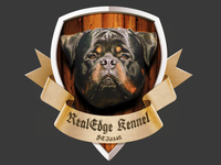 Real Edge kennel logo/crest