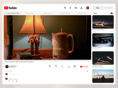 YoutubeRe-Design for iPad