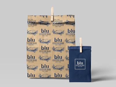 Packaging for Blu Oyster Bar