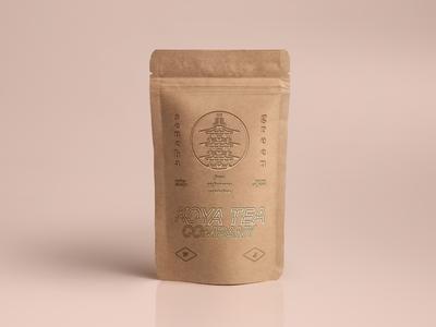Sencha green tea for Koya Tea Company