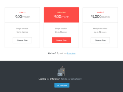 Pricing Page pricing beacon enterprise plans