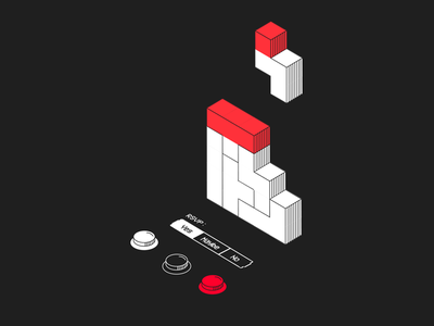 The Calendar Game video game rsvp tetris calendar