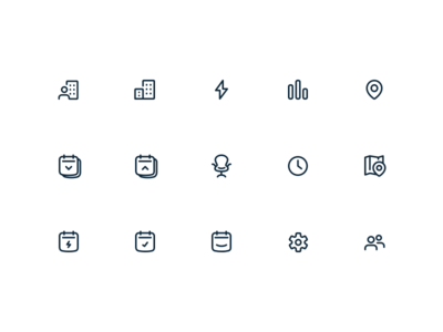Office Navigation Icons