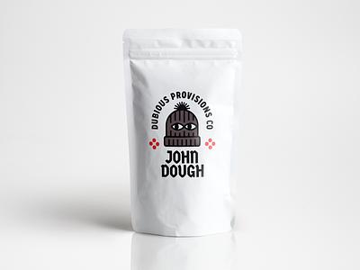 John Dough Branding merch identity logo packaging branding pizza