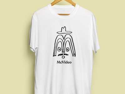 McVideo simple raw drawing t-shirt illustration
