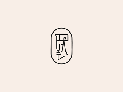 ✂️ Cuts — Goat & Ram Mark animal goat clean simple badge mark branding logo