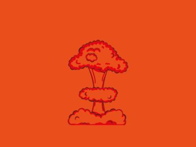 Nuke. blast raywenderlich nuke smoke vector illustration design illustrator