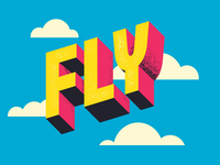 Fly guy for ya! lettering digital lettering adobe illustrator illustration typography