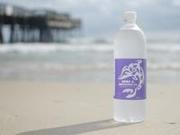Surf & Adventure Dolphin Label