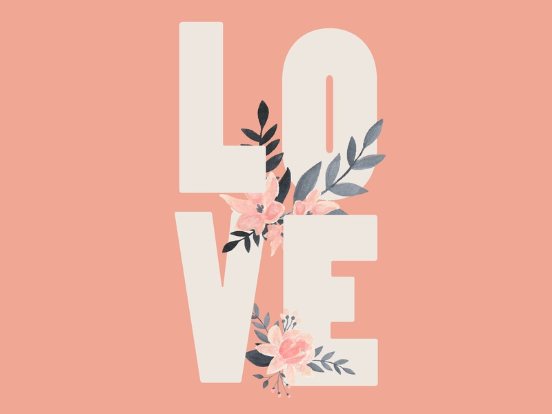 Love Typography love typography valentine day love
