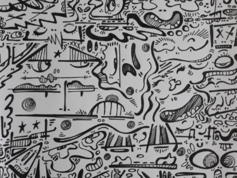 Doodle's monster graphicdesign art illustration funwithmonsters doodle